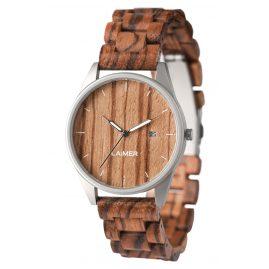 Laimer 0076 Holz-Armbanduhr Ulli