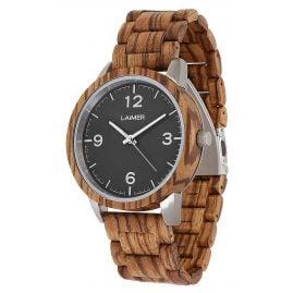 Laimer 0087 Wooden Men's Watch Elia