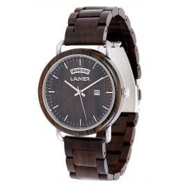 Laimer 0110 Wooden Men's Watch Fabius