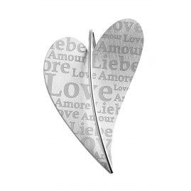 Ernstes Design AN479 XL Anhänger Herz Liebe