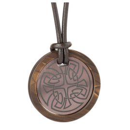 Ernstes Design K675.B.54 Halskette für Herren