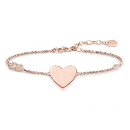 Thomas Sabo A1486-416-14 Ladies Bracelet Heart with Infinity