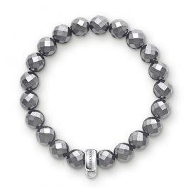 Thomas Sabo X0187-064-11 Charm-Armband Hämatit