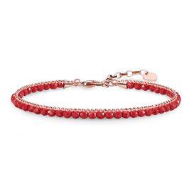 Thomas Sabo A1717-109-10 Damen-Armband Rot