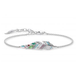 Thomas Sabo A1749-340-7 Ladies Bracelet Feather
