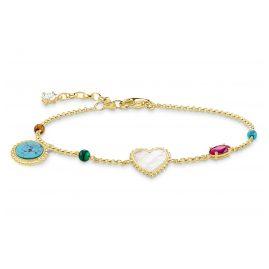 Thomas Sabo A1764-490-7 Damenarmband Riviera Colours