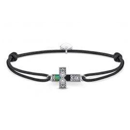 Thomas Sabo LS083-482-11-L22v Unisex-Armband Little Secret Kreuz Abalone-Perlmutt