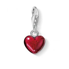 Thomas Sabo 0794-007-10 Charm-Anhänger Rotes Herz