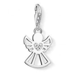 Thomas Sabo DC0029-725-14 Charm-Anhänger Engel mit Herz