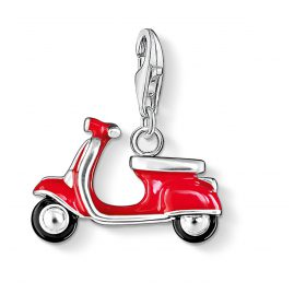 Thomas Sabo 0827-007-10 Charm-Anhänger Roter Roller