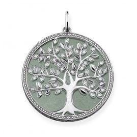 Thomas Sabo PE760-909-6 Anhänger Grüner Tree of Love
