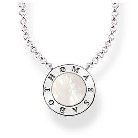Thomas Sabo KE1492-029-14 Damen-Halskette Classic Weiß