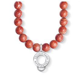 Thomas Sabo X0236-015-10 Kette für Charms Rot