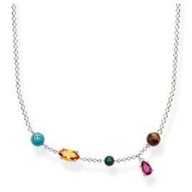 Thomas Sabo KE1757-480-7 Ladies Necklace Riviera Colours