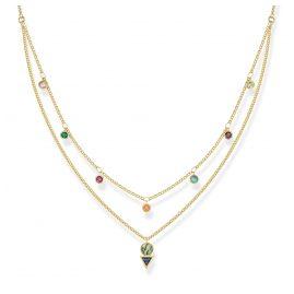 Thomas Sabo KE1844-993-7-L45v Ladies´ Necklace Colourful Stones