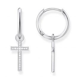 Thomas Sabo CR622-051-14 Silber Ohrringe Kreuz