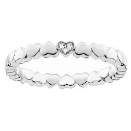 Thomas Sabo D_TR0013-725-14 Ladies Ring Hearts