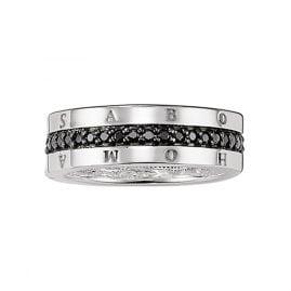 Thomas Sabo TR1944-051-11 Eternity Ring Classic Black