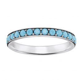 Thomas Sabo TR2178-667-17 Ladies Ring Turquoise Stones