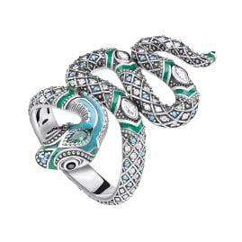 Thomas Sabo TR2181-845-17 Ladies Ring Snake