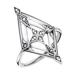 Thomas Sabo D_TR0040-356-14 Damen-Ring Vintage Kreuz