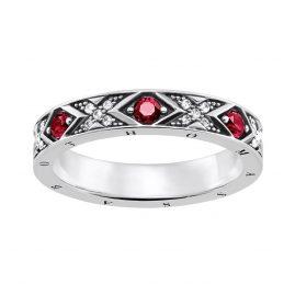 Thomas Sabo TR2164-640-10 Damen-Ring Asiatische Ornamente