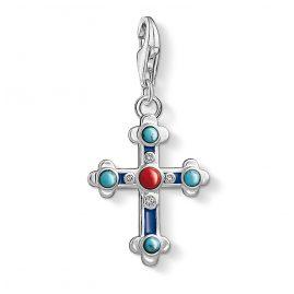 Thomas Sabo 1466-335-7 Charm-Anhänger Ethno Kreuz
