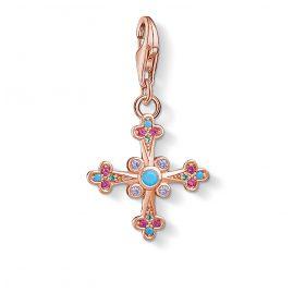 Thomas Sabo 1493-321-7 Charm-Anhänger Viktorianisches Kreuz