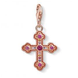 Thomas Sabo 1495-392-10 Charm-Anhänger Viktorianisches Kreuz