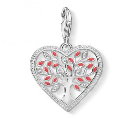 Thomas Sabo 1504-041-27 Charm-Anhänger Tree of Love Herz