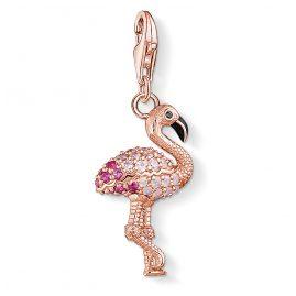 Thomas Sabo 1518-384-9 Charm-Anhänger Flamingo