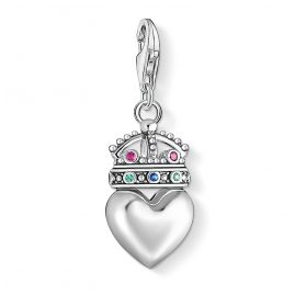 Thomas Sabo 1544-498-7 Charm Pendant Heart with Crown