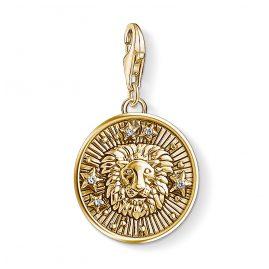 Thomas Sabo 1656-414-39 Charm-Anhänger Sternzeichen Löwe vergoldet