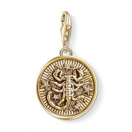 Thomas Sabo 1659-414-39 Charm-Anhänger Sternzeichen Skorpion vergoldet