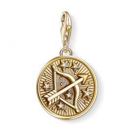 Thomas Sabo 1660-414-39 Charm-Anhänger Sternzeichen Schütze vergoldet
