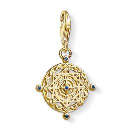 Thomas Sabo 1662-922-39 Charm-Anhänger Kompass vergoldet