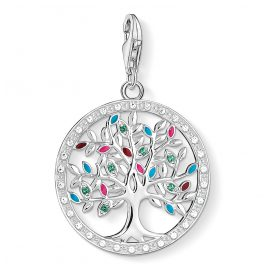 Thomas Sabo 1667-473-7 Charm-Anhänger Tree of Love Bunt