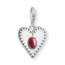 Thomas Sabo 1683-111-10 Charm-Anhänger Herz Rot
