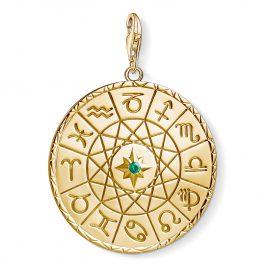 Thomas Sabo Y0036-472-39 Charm-Anhänger Sternzeichen vergoldet