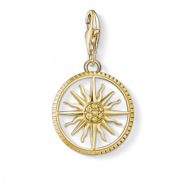 Thomas Sabo 1765-414-4 Charm-Anhänger Sonne Goldfarben