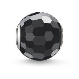 Thomas Sabo K0003-023-11 Bead Obsidian facettiert