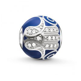 Thomas Sabo K0207-041-32 Bead Blaue Fatimas Hand