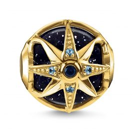 Thomas Sabo K0309-963-1 Bead Royalty Stern Blau