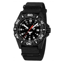 KHS RE.NB Mens Watch Reaper with Nato Band Black
