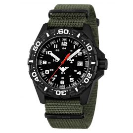 KHS RE.NO Mens Watch Reaper with Nato Band Olive