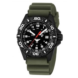 KHS RE.DO Mens Watch Reaper with Diving Band Olive