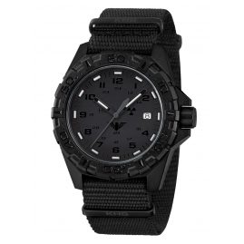 KHS REXT.NB Mens Watch Reaper XTAC with Nato Strap Black
