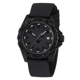 KHS REXT.SB Mens Watch Reaper XTAC with Silicone Strap Black