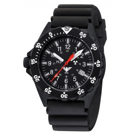 KHS SH.DB Mens Watch Shooter with Black Diver Strap