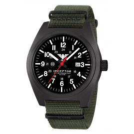 KHS INCBS.NO Herrenuhr Inceptor Black Steel